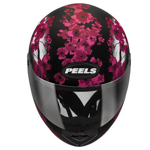 Imagem de Capacete Feminino Fechado Peels Spike Blossom Flores