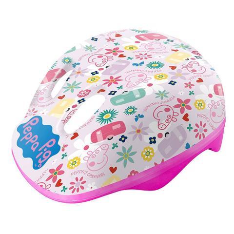 Imagem de Capacete Infantil Ajustável Rosa Peppa Pig Dtc 4604