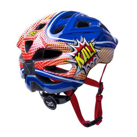 Imagem de Capacete Infantil Bike Kali Chakra Power - Azul/Vermelho - (48-54 CM)