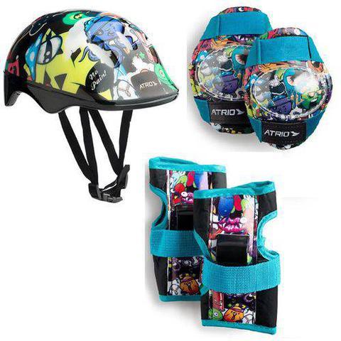 Imagem de Capacete Kit De Proteção Infantil Monster Es200 Atrio