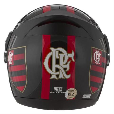 Imagem de Capacete Liberty Evolution G4 Flamengo Pro Tork