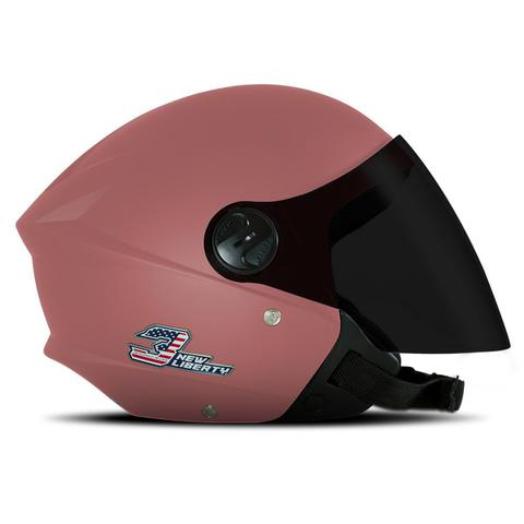 Imagem de Capacete Moto Aberto Pro Tork New 3 Elite Viseira Fume