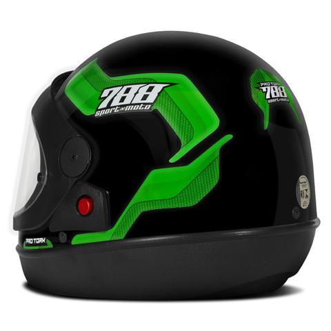 Imagem de Capacete Moto Automático Pro Tork Sport Moto 788