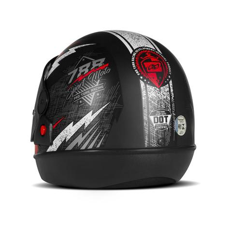 Imagem de Capacete Moto Automático Pro Tork Super Sport Moto Preto