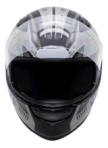 Imagem de Capacete Moto Ebf New Spark Air Fechado Fosco brilhante