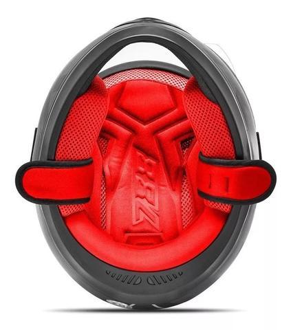 Imagem de Capacete moto fechado liberty evolution g7 veremelho preto brilhante