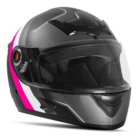 Imagem de Capacete Moto Fechado Mixs Mx5 Super Speed Fosco