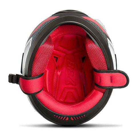 Imagem de Capacete Moto Fechado Pro Tork Evolution G6 Pro Series Tech + Viseira Fumê