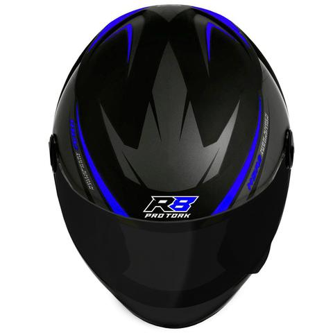 Imagem de Capacete Moto Fechado Pro Tork R8 Viseira Fumê