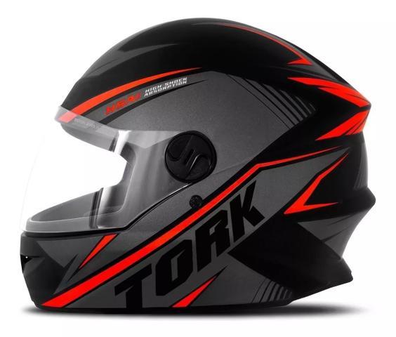 Imagem de Capacete moto fechado r8 vermelho pro tork