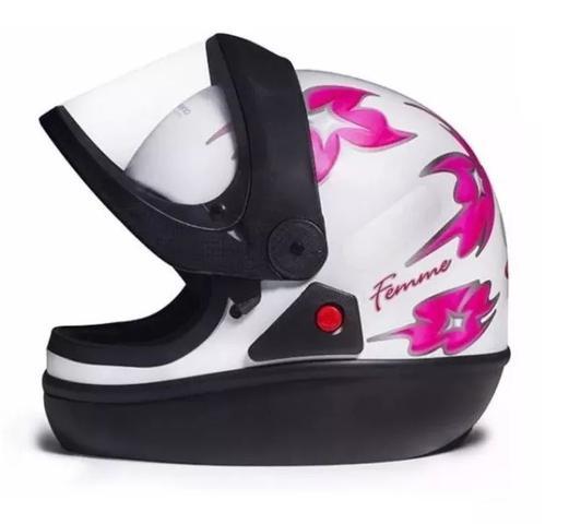 Imagem de Capacete Moto Fechado San Marino Masculino/feminino.original