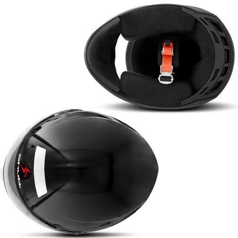 Imagem de Capacete Moto Fechado Shutt One Preto e Vermelho