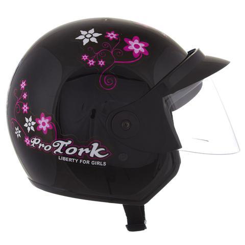 Imagem de Capacete Moto Feminino Pro Tork Liberty 3 For Girls
