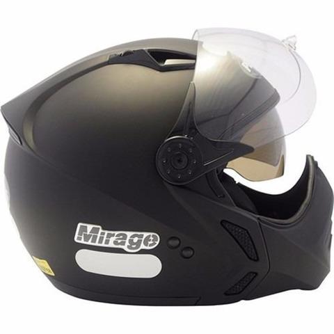 Imagem de Capacete Moto Peels Mirage New Classic Preto Fosco Com Óculos Solar