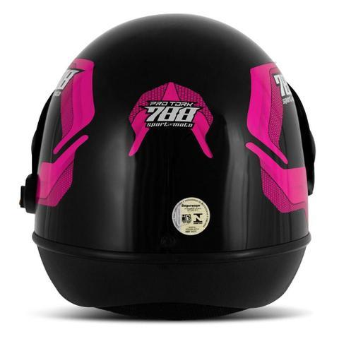 Imagem de Capacete moto pro tork sport moto 788
