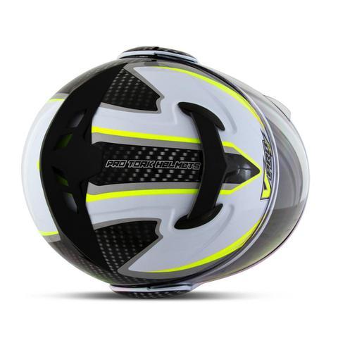 Imagem de Capacete Moto Robocop Pro Tork V-Pro Jet 2 Carbon