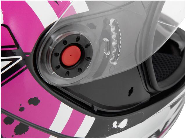 Imagem de Capacete MS Fokker Paint Mixs Rosa