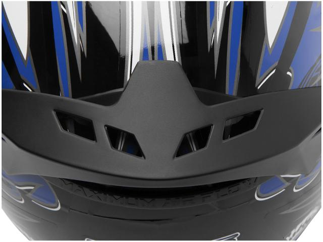 Imagem de Capacete MX Cobra Plus Mixs  Preto e Azul