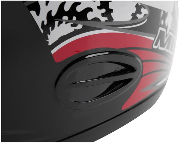 Imagem de Capacete MX Cobra Plus Mixs Preto e Vermelho