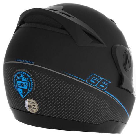 Imagem de Capacete Pro Tork Fechado Evolution G6 Edition - Azul 60cm