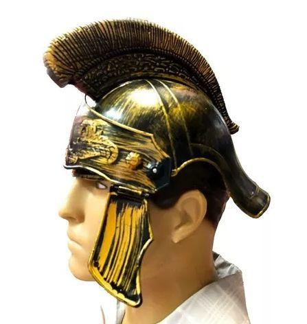 Imagem de Capacete Romano Gladiador Medieval