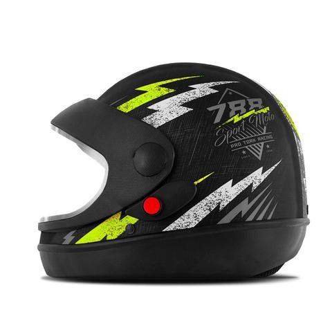 Imagem de Capacete super sport moto preto