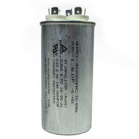 Imagem de Capacitor duplo 25+1.5 mfd 400vac