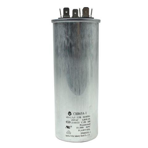 Imagem de Capacitor duplo 40+1.5 mfd 450vac