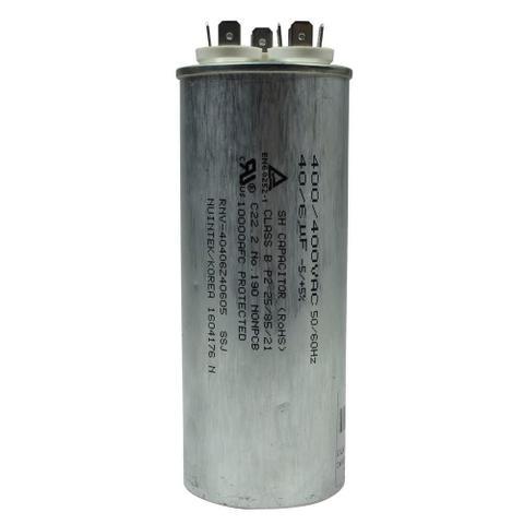 Imagem de Capacitor duplo 40+6 mfd 400vac