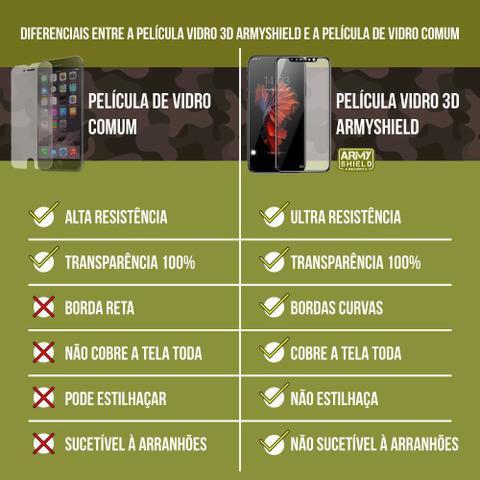Imagem de Capinha Anti Impacto + Película de Vidro 3D Samsung S10 Plus - Armyshield