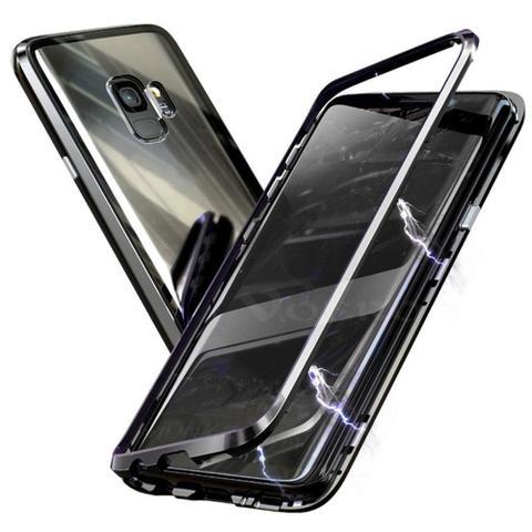 Imagem de Capinha Capa Case Magnetica do Samsung J4+ plus preta