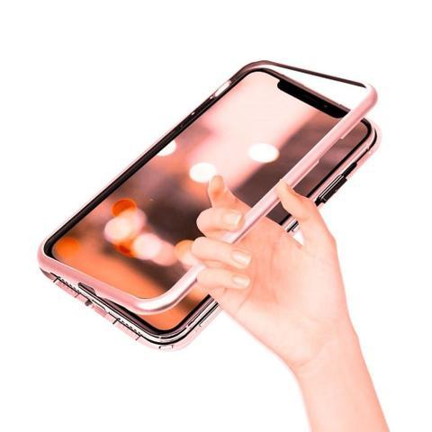 Imagem de Capinha Capa Case Magnetica do Samsung J4+ plus Vermelha