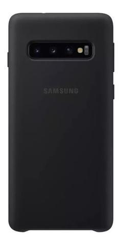 Imagem de Capinha Capa Silicone Celular Samsung Galaxy S10 Plus