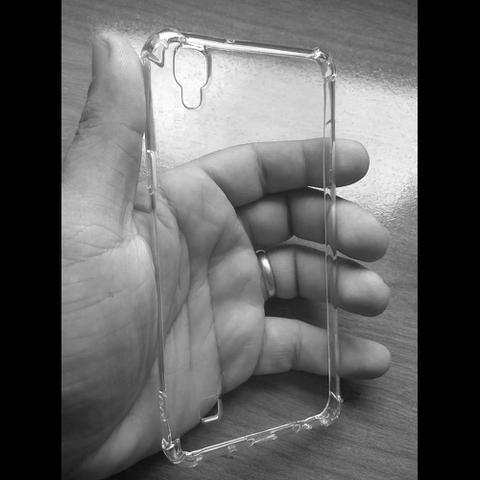 Imagem de Capinha Silicone para LG X Power TPU Anti Impacto Transparente