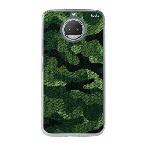 Imagem de Capinha Silicone Personalizada Husky Motorola Moto G5S Militar Oliva