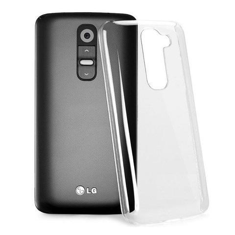 Imagem de Capinha Silicone Premium Transparente Capa TPU Ultra Fina LG K10 + Película