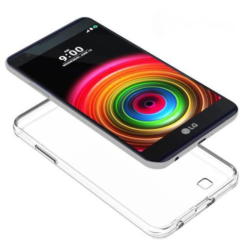 Imagem de Capinha Silicone Premium Transparente Case TPU Ultra Fina LG X Power