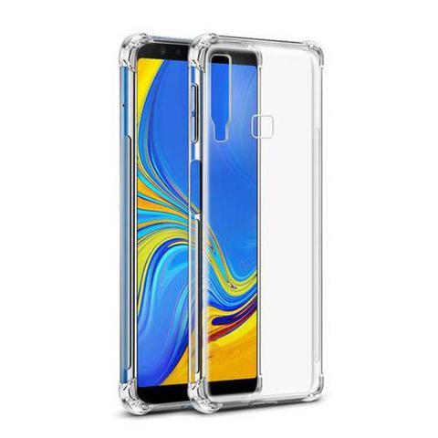 Imagem de Capinha Silicone Transparente Antichoque Samsung A9 2018 SM-A920F