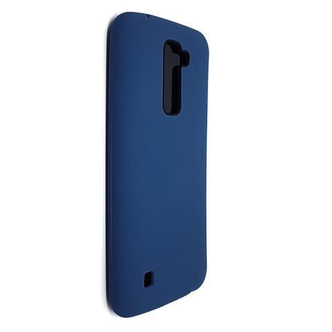 Imagem de Capinha TPU Silicone Premium Color Fosca para LG K10 Azul Petróleo