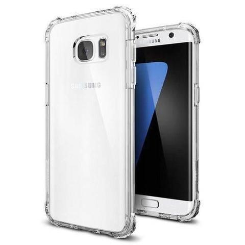 Imagem de Capinha Transparente Silicone Anti Impacto Samsung S7