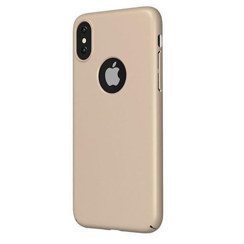 Imagem de Capinha Ultra Slim Rígida para iPhone X Dourada