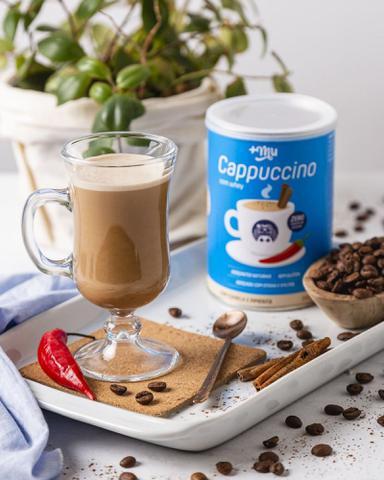 Imagem de Cappuccino Proteico Com Whey Canela e Pimenta 200G - Mais Mu