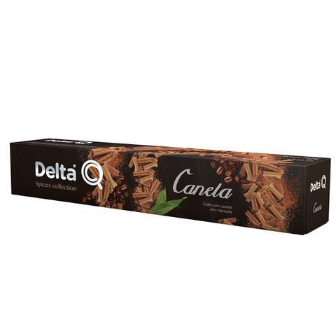 Imagem de Cápsula de Café Delta Q com Canela - 10 Cápsulas