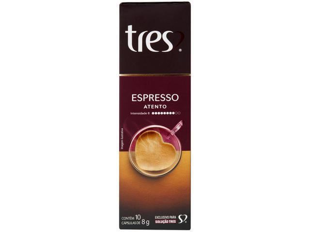 Imagem de Cápsula de Café Espresso Atento TRES 3 Corações