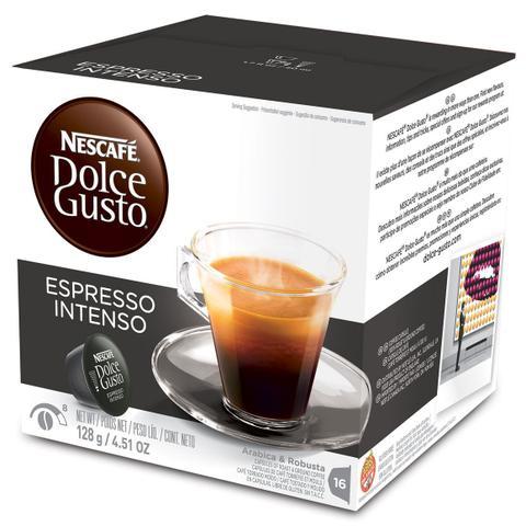 Imagem de Cápsula Nescafé Dolce Gusto Café Espresso Intenso 16 Cápsulas - Nestlé