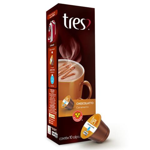 Imagem de Cápsulas de Chocolatto Caramello 3 Corações - 10 un