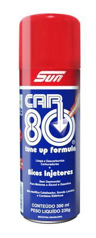 Imagem de Car80 Descarbonizante Car 80 Limpa Bicos / Tbi / Carburador