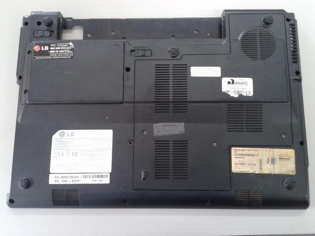 Imagem de Carcaça Chassi Base Notebook LG R480 Preto - Seminovo