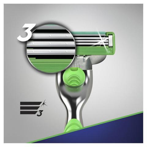 Imagem de Carga aparelho barbear gillette mach3 sensitive 16 unidades