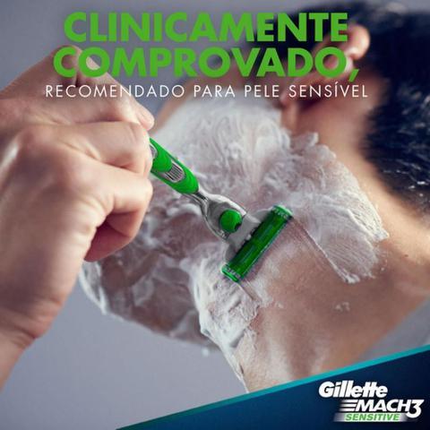 Imagem de Carga Barbear Gillette Mach3 Sensitive Leve 4 Pague 3